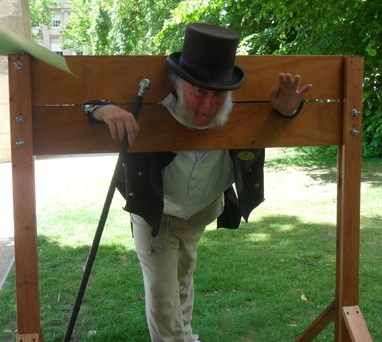 In the stocks!