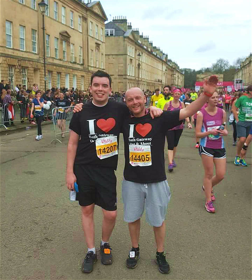 Nick & Paul Bath Half photo